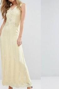 (38/M) Cekinowa, długa suknia wieczorowa z Londynu/ sukienka wieczorowa/ NOWA-2