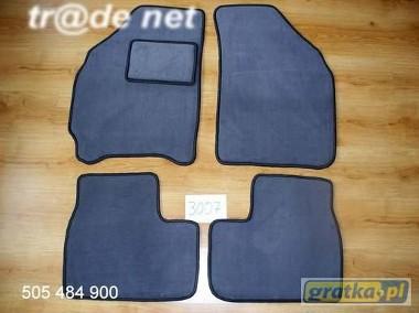 Daewoo Matiz od 1998r. najwyższej jakości dywaniki samochodowe z grubego weluru z gumą od spodu, dedykowane Daewoo Matiz-1