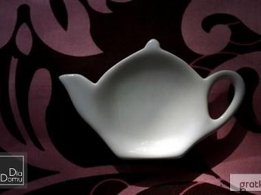 Spodek, podstawka na torebkę herbaty, cytrynę, oparcie dla łyżeczki-1