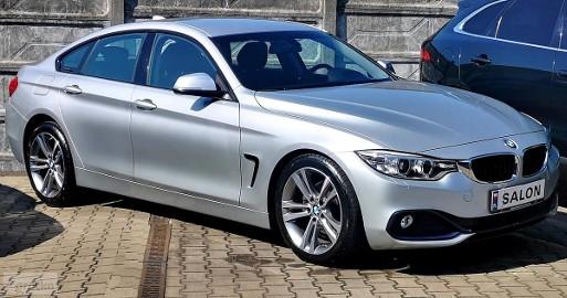 BMW SERIA 4 I (F36) 420dA Sport Line F1 DVD Navi PRO fotele Sport 18''