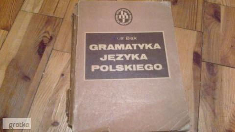 Gramatyka języka polskiego-Bąk