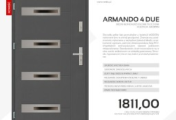Drzwi zewnętrzne stalowe SETTO model ARMANDO 4 DUE MODERN