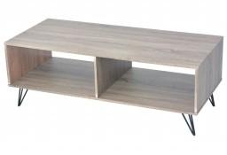 vidaXL Szafka pod TV stolik kawowy 110x50x40 cm szary243450