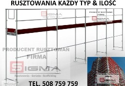 RUSZTOWANIA 216m2 od 7770 zł Rusztowanie Elewacyjne PROMOCJA Producent