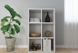 vidaXL Regał na książki/szafka, biały, 66x30x97,8 cm, płyta wiórowa800342