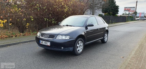 Audi A3 I (8L) 1.6 / Instal gaz / Klima / Nowy rozrząd / Okazja !