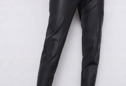 (38/M) ZARA/ Skórzane legginsy/ spodnie rurki / NOWE