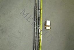 Śruba z nakrętką posuwu wzdłuznego do frezarki FWD32*SZYBKO*tel.601273528