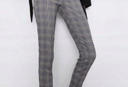 (40/L) ZARA/Ekskluzywne legginsy biznesowe/ spodnie rurki/ NOWE