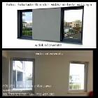 Co na okno na parterze? Sąsiad mi w okna zagląda-Folia lustro 285, Lustro weneckie 270 -Folkos folie