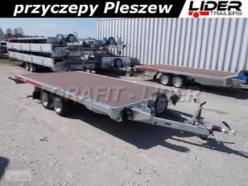 TM-208 przyczepa 400x216cm, Carplatform 4021, laweta, platforma, podłoga sklejkowa, koła 10