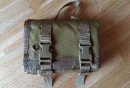 Mata strzelecka brązowa myśliwska składana 198cm x 74cm kempingowa