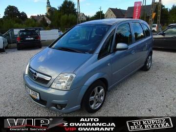 Opel Meriva A 1.6B LIFT Klimatyzacja! Czujniki! Alufelgi! Aux In! Hak PoOpłatch!