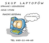 Skup laptopów - Nowa Dęba i okolice tel. 883-11-44-63