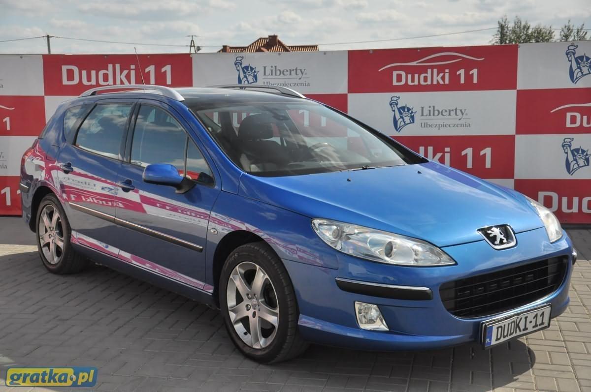 Peugeot 407 2 0 Hdi St Komfort Eu3 Gratka Pl