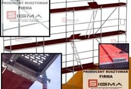 RUSZTOWANIA zestaw 124m2 od 4650 zł NOWE Rusztowania Elewacyjne Ramowe