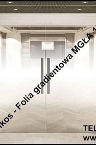 Folie dekoracyjne gradientowe Warszawa-Mgła152, Perła152, Pixel122-2