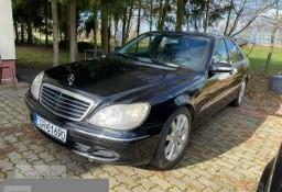 Mercedes-Benz Klasa S W220 MERCEDES S 320 W220 automat 3.2 DIESEL KLASA!