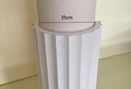 nakładka styropianowa na słup, kolumnę kanelowana średnica 31 cm