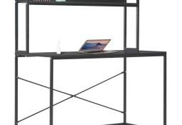 vidaXL Biurko komputerowe, czarne, 120 x 60 x 138 cm20253