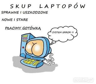 Skup laptopów - Radom i okolice tel. 883-11-44-63
