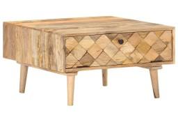 vidaXL Stolik kawowy, 68x68x38 cm, lite drewno mango288088