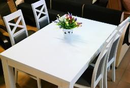 Zestaw do jadalni Alaska Stół+4 krzesła białe ,beton. Różne kolory Nisko Rzeszów