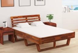 vidaXL Rama łóżka, lite drewno akacjowe, 140 x 200 cm288312