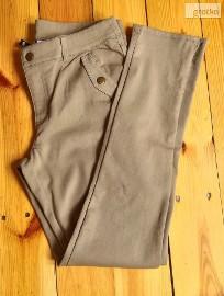 Nowe spodnie H&M L 40 miltarne bojówki khaki oliwka zieleń zamki