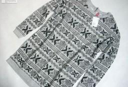 H&M Tunika Sukienka Wzór Hit NOWA 34 36 XS S