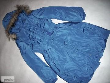 Płaszcz Ciepły Elegancki Kurtka zima NOWY 36 S 38 M