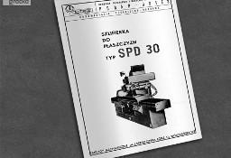 Instrukcja DTR: Szlifierka SPD 30, SPD-30