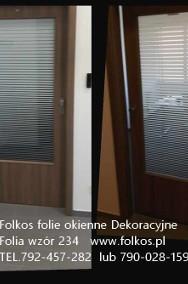 Folia dekoracyjna wzór 460, 880,234,560...Folie do dekoracji szyb,witryn,przeszkleń biurowych-Sprzedaż ,montaż Warszawa -2