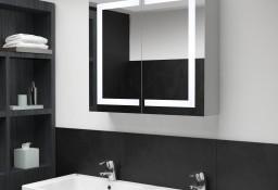vidaXL Szafka łazienkowa z lustrem i LED, 80 x 12,2 x 68 cm285123