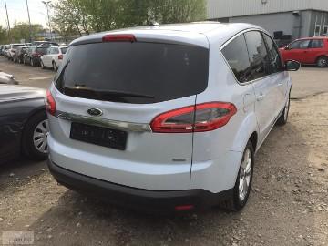 Ford S-MAX II 2,0 Tdci TITANIUM , SKÓRA AL, ALUM. NAWI BEZWYPADK