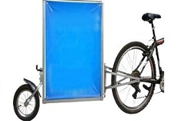 reklamowa przyczepka rowerowa