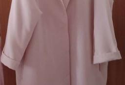 (40/L) Ekskluzywny, różowy płaszcz z Londynu/ jak NOWY