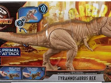 Tyranozaur T-Rex Park Jurajski Dźwięk Ruch Dinozaur Jurassic World-1