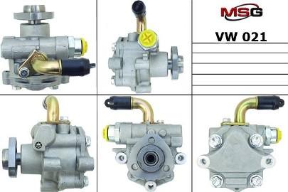 Pompa wspomagania hydraulicznego Vw Caddy, Vw Golf, Vw Multivan, Vw Sharan, Vw Transporter, Vw Beetle, Vw Crafter VW021