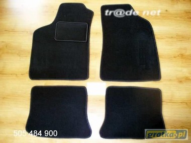 Seat Ibiza II 1993-1999 3, 5 drzwi H/B najwyższej jakości dywaniki samochodowe z grubego weluru z gumą od spodu, dedykowane SEAT Ibiza-1