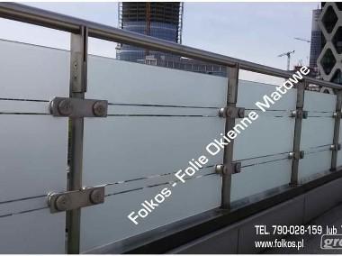 Folie dekoracyjne na balkon Warszawa- Folie na okna i drzwi Folkos-1