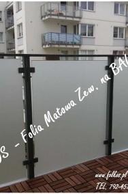 Folie dekoracyjne na balkon Warszawa- Folie na okna i drzwi Folkos-2