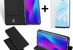 Etui DUXDUCIS czarny + szkło UV do Huawei P30 Pro