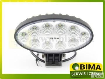 Halogen Lampa robocza reflektor WESEM 10 LED części do traktorów