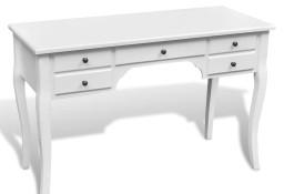 vidaXL Biurko w stylu francuskim z 5 szufladkami241734
