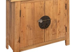vidaXL Szafka łazienkowa pod umywalkę, drewno sosnowe, 70x32x63 cm 246035