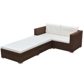 vidaXL Rozkładany stół ogrodowy, 180-280x100x75 cm, lite drewno tekowe 44679