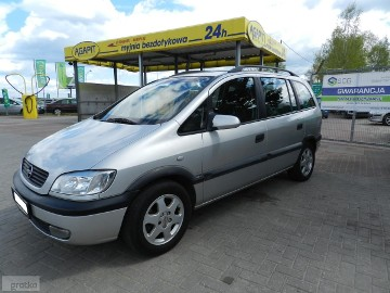 Opel Zafira A 7 Osób Klima Zarejestrowany