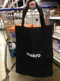 MAKRO/ Ogromna torba zakupowa/ torebka na ramię/ NOWA z metką