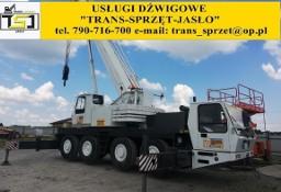 Usługi dźwigowe dźwig 35 ton 50 ton 70 ton 130 ton